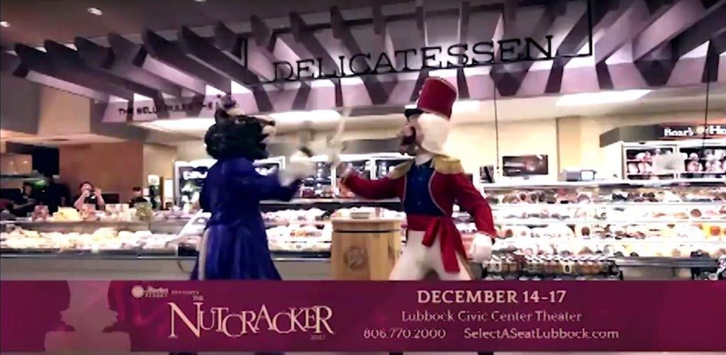 Picture of The epic battle between Nutcracker and Mouse King rages on in the deli at Market Street.